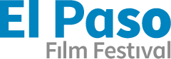 El Paso Film Festival spelled out in blue and gray